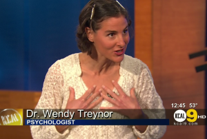 Dr. Wendy Treynor on CBS TV