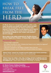 Wendy Treynor Cancer Healing One Sheet