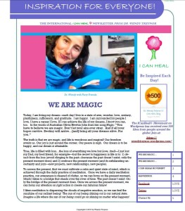 Snip Clip I Can Heal Newsletter 2016 July